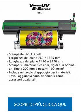 VersaUV S-Series Belt Caratteristiche Principali